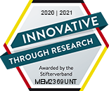Logo: Innovative through research